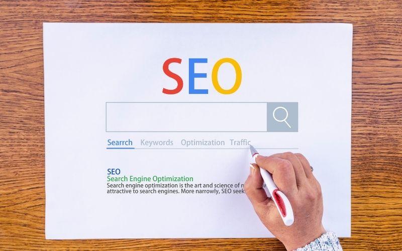 SEO optimization builds a long term audience